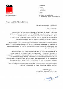courrier CGIL