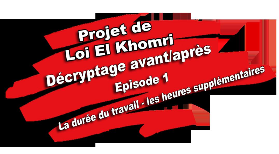 Decryptage Avant Apres Vos Droits Le Lessivage El Khomri La